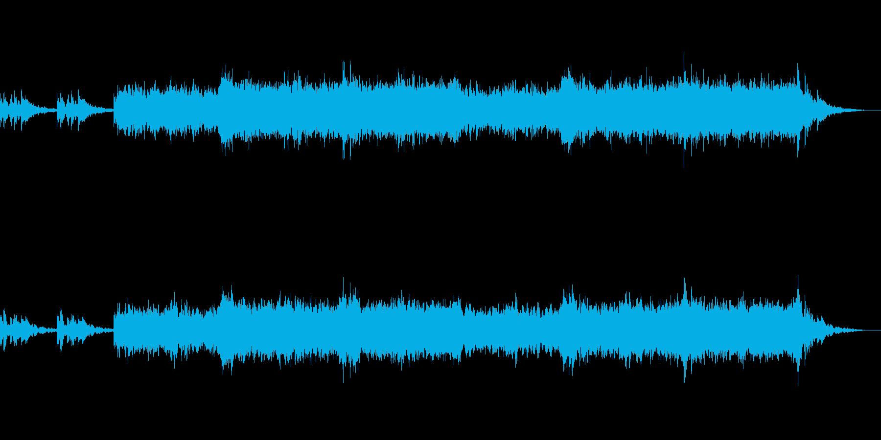 アンビエント環境音楽ヒーリング-04の再生済みの波形