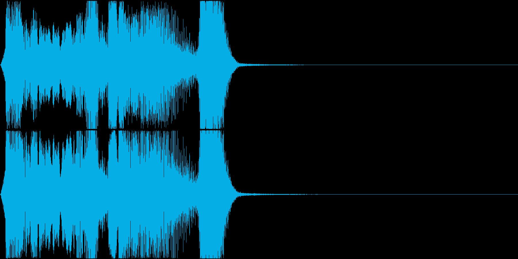 「ボーナスチャンス」アプリ・ゲーム用の再生済みの波形
