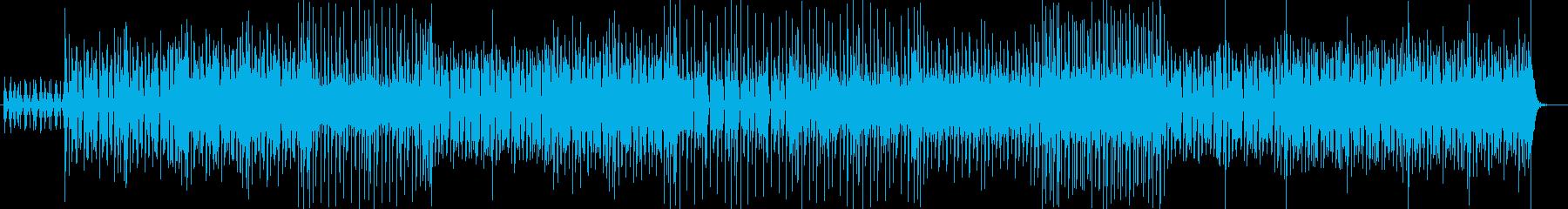 明るいポップ・フュージョン感あるサウンドの再生済みの波形