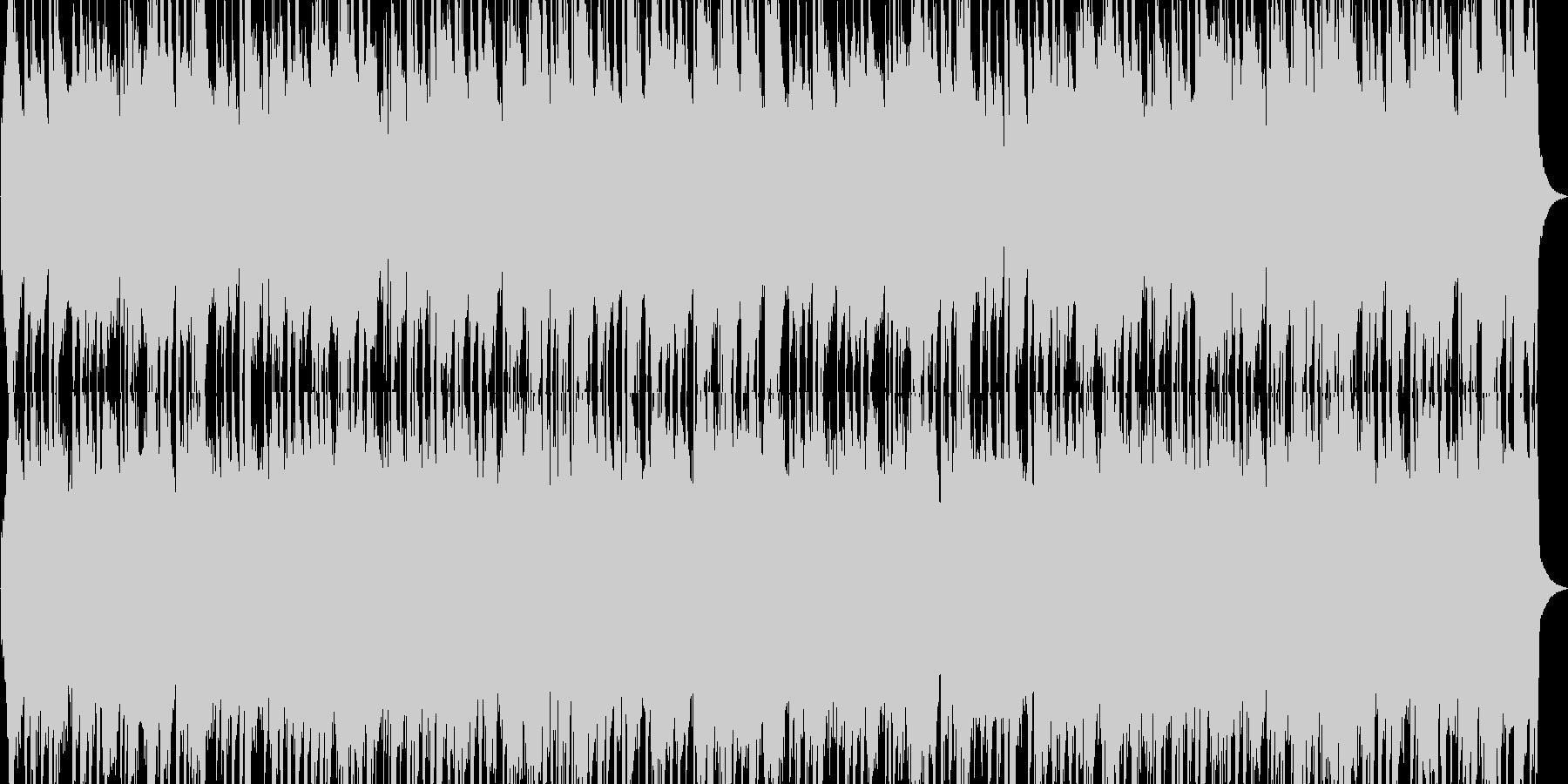 ハープ3拍子優しくて明るいカノン進行の未再生の波形