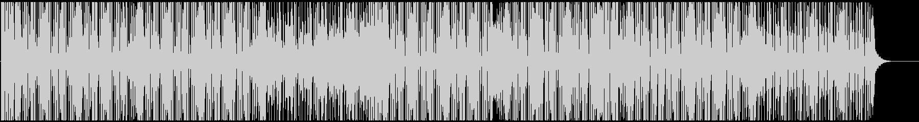 カットアップした音が近未来的なテクノの未再生の波形