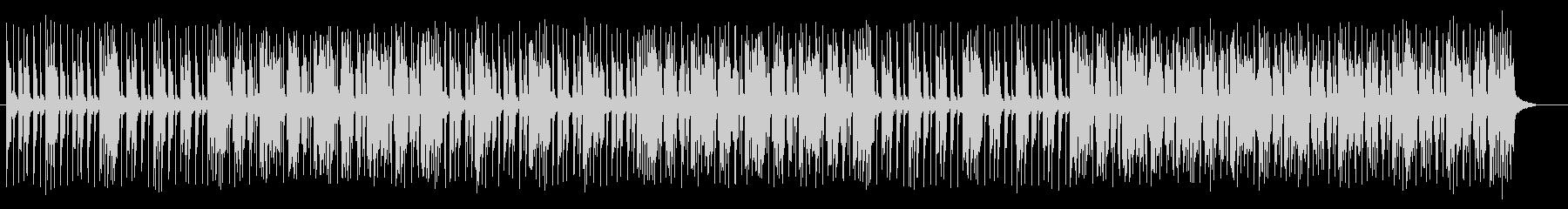 陽気なオルガンのジャズポップの未再生の波形