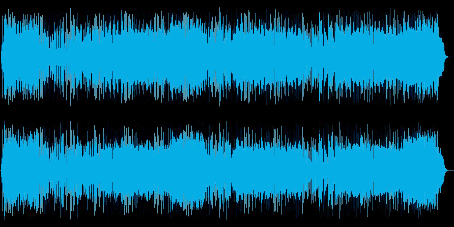 青空のようなピアノが冴えるポップスの再生済みの波形