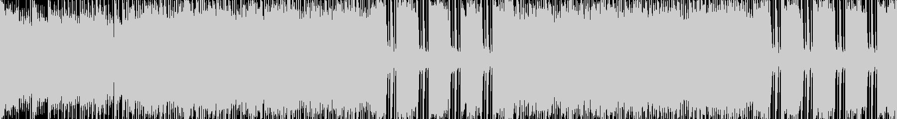 スマホアプリ向けバトル レトロ風の未再生の波形