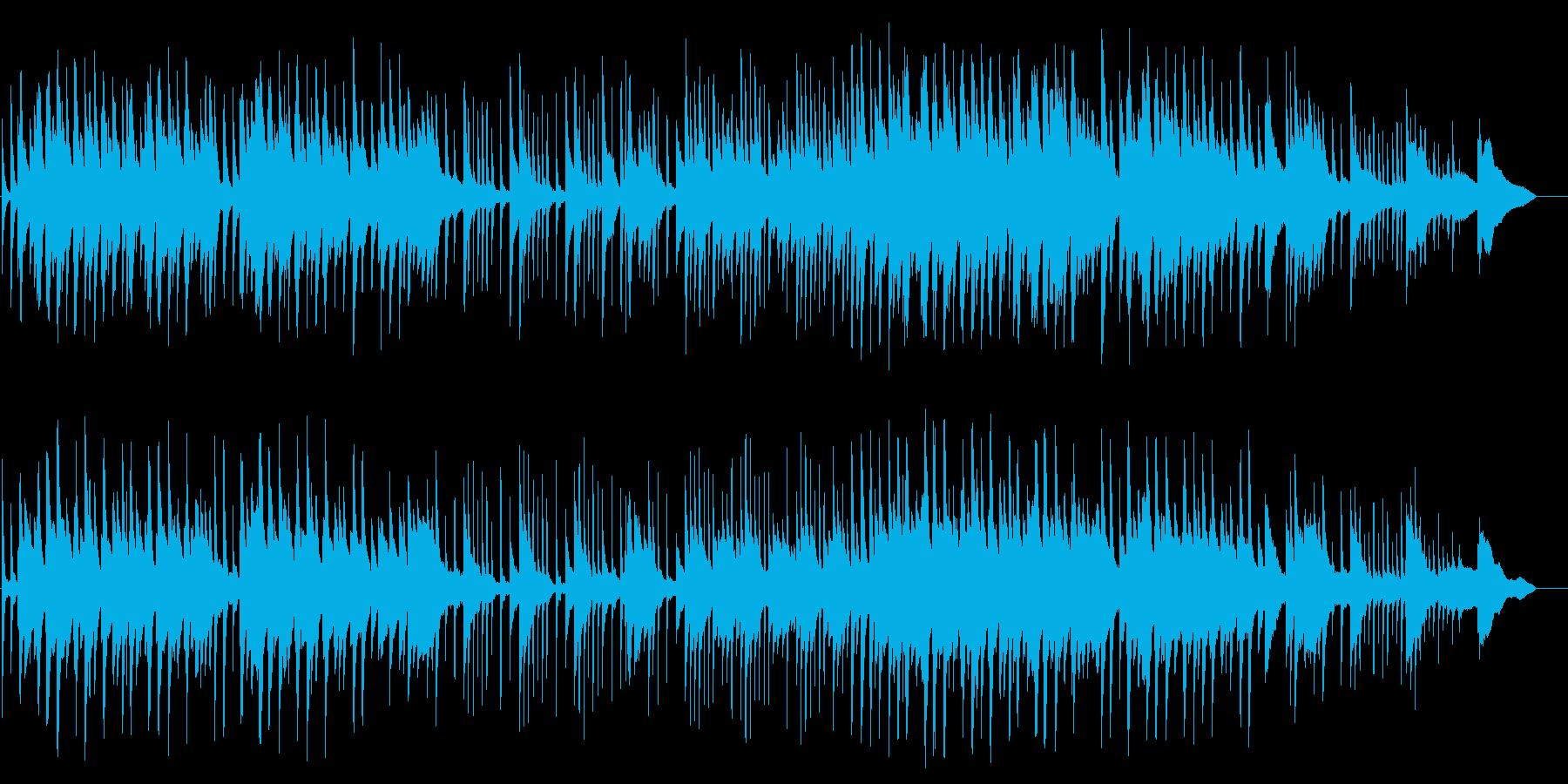 切ないメロディが叙情的なピアノBGMの再生済みの波形