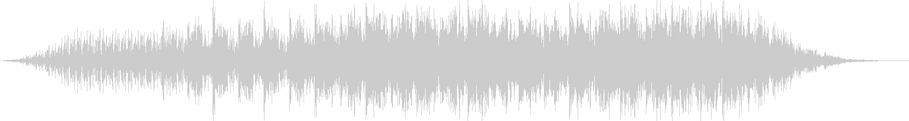 疾走感のあるドラムループとピアノリフの未再生の波形