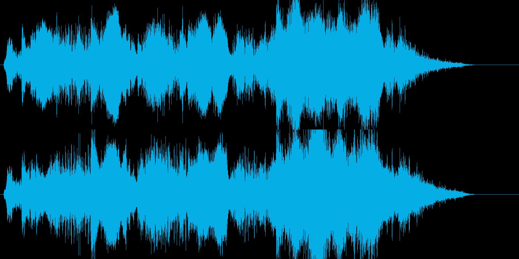 重苦しい  奇妙 緊迫 科学 謎の再生済みの波形