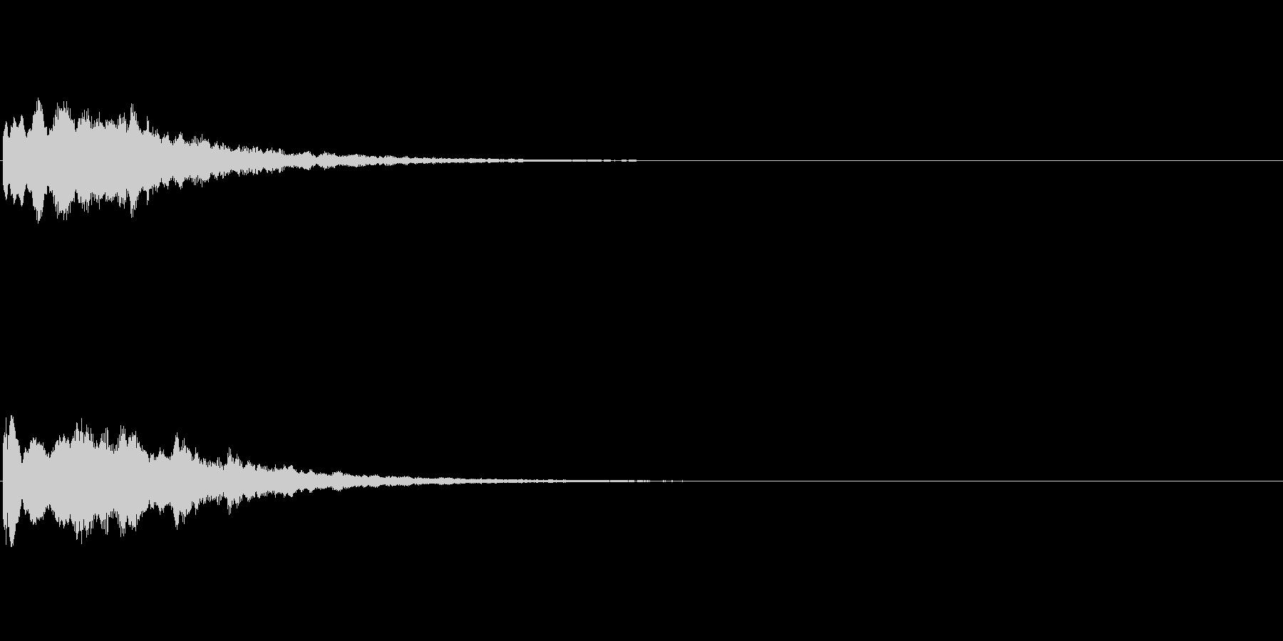コインやアイテムなどの獲得音.03の未再生の波形