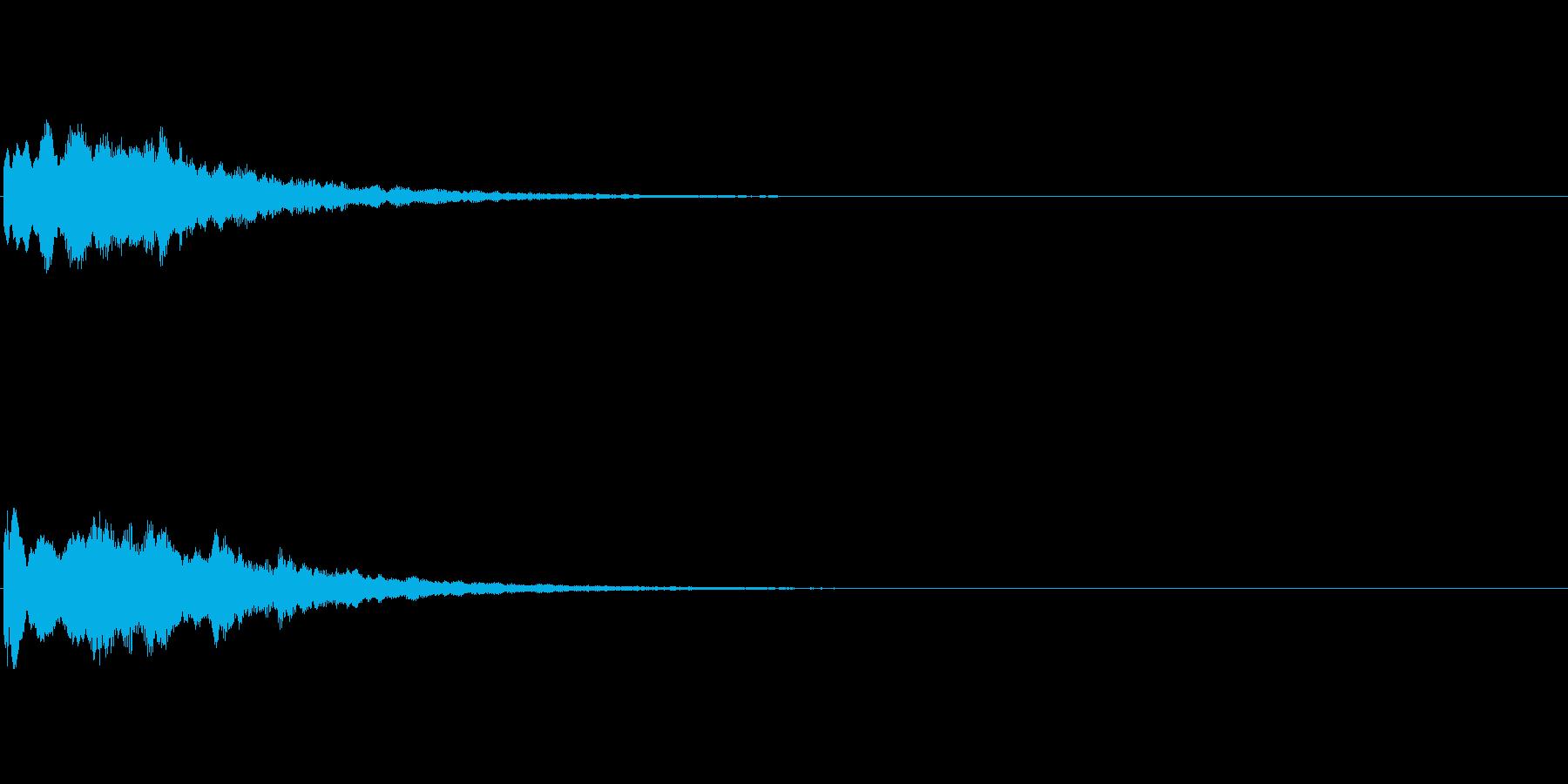 コインやアイテムなどの獲得音.03の再生済みの波形