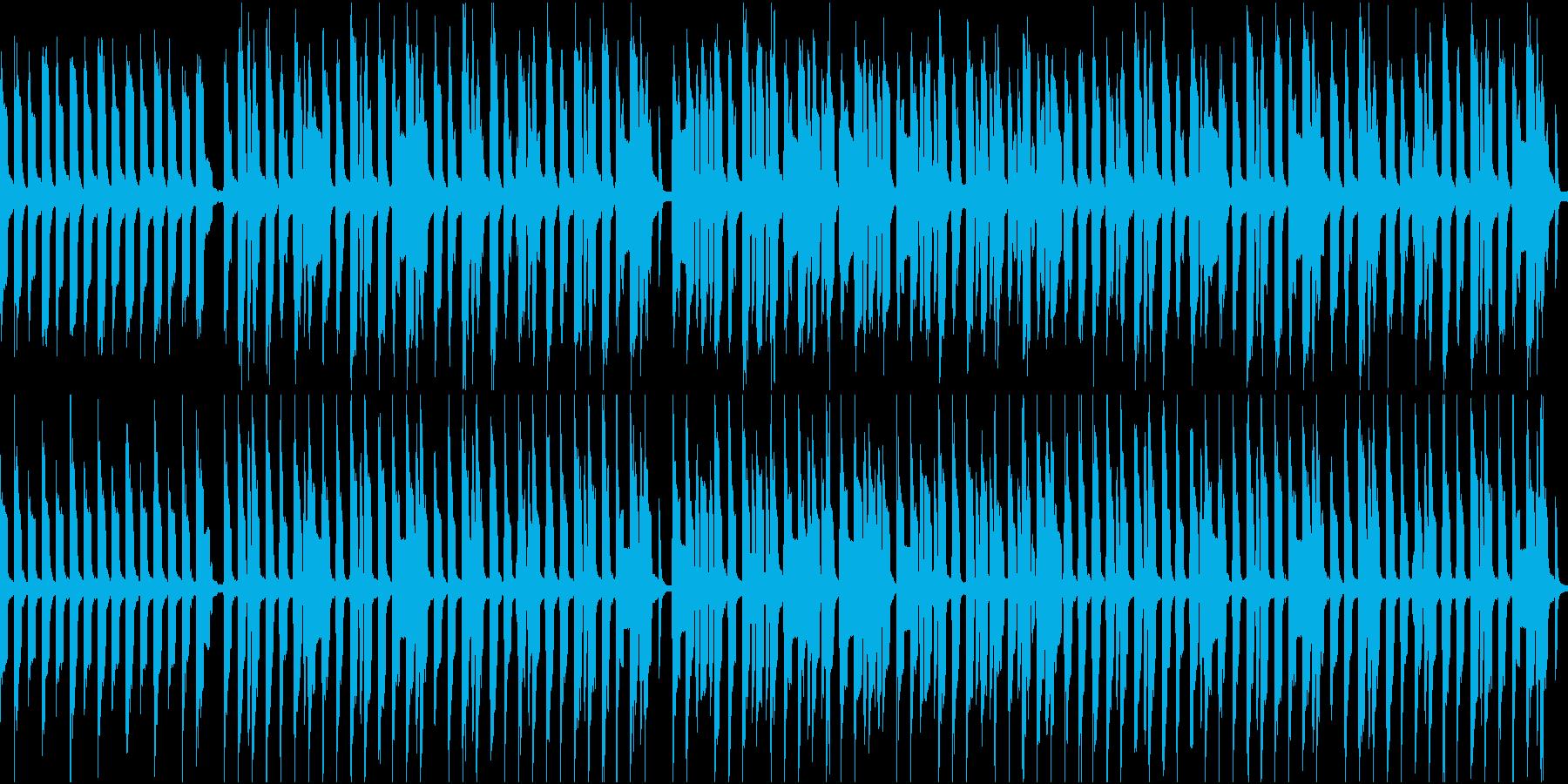脱力系でほのぼのしたBGMの再生済みの波形