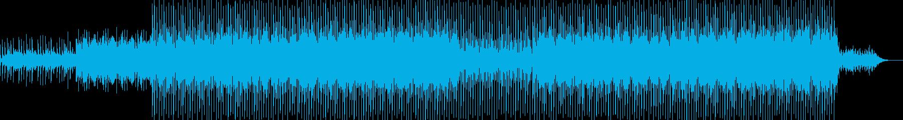 EDMクラブ系ダンスミュージック-27の再生済みの波形