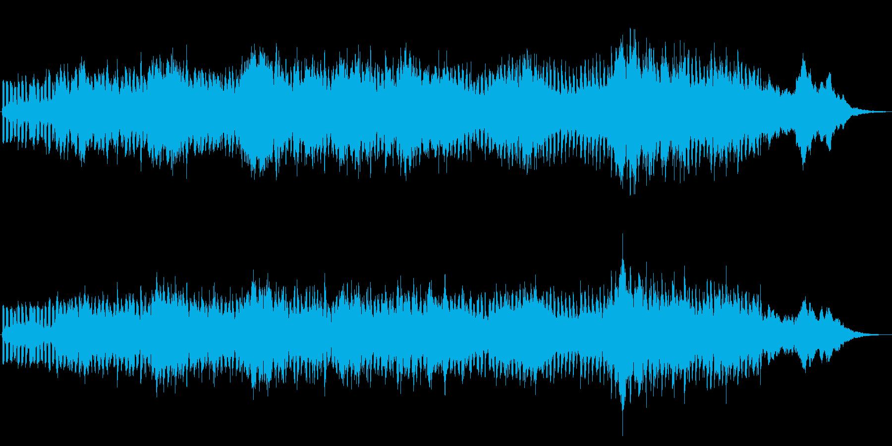 シンセパッドによる幻想的なジングル2の再生済みの波形