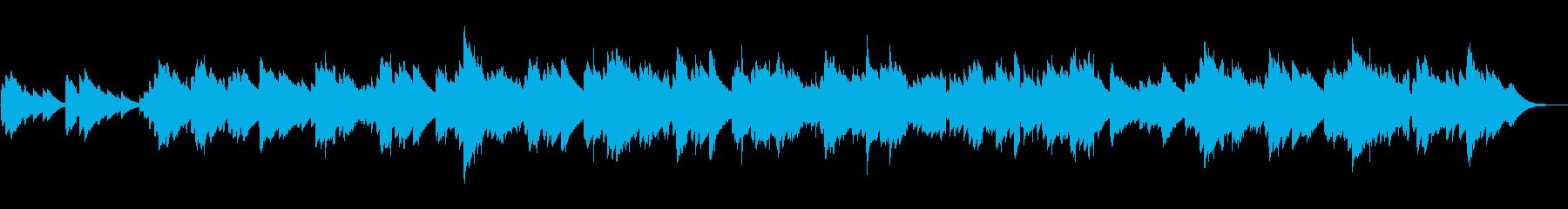 ノスタルジックなオルゴール風BGMの再生済みの波形