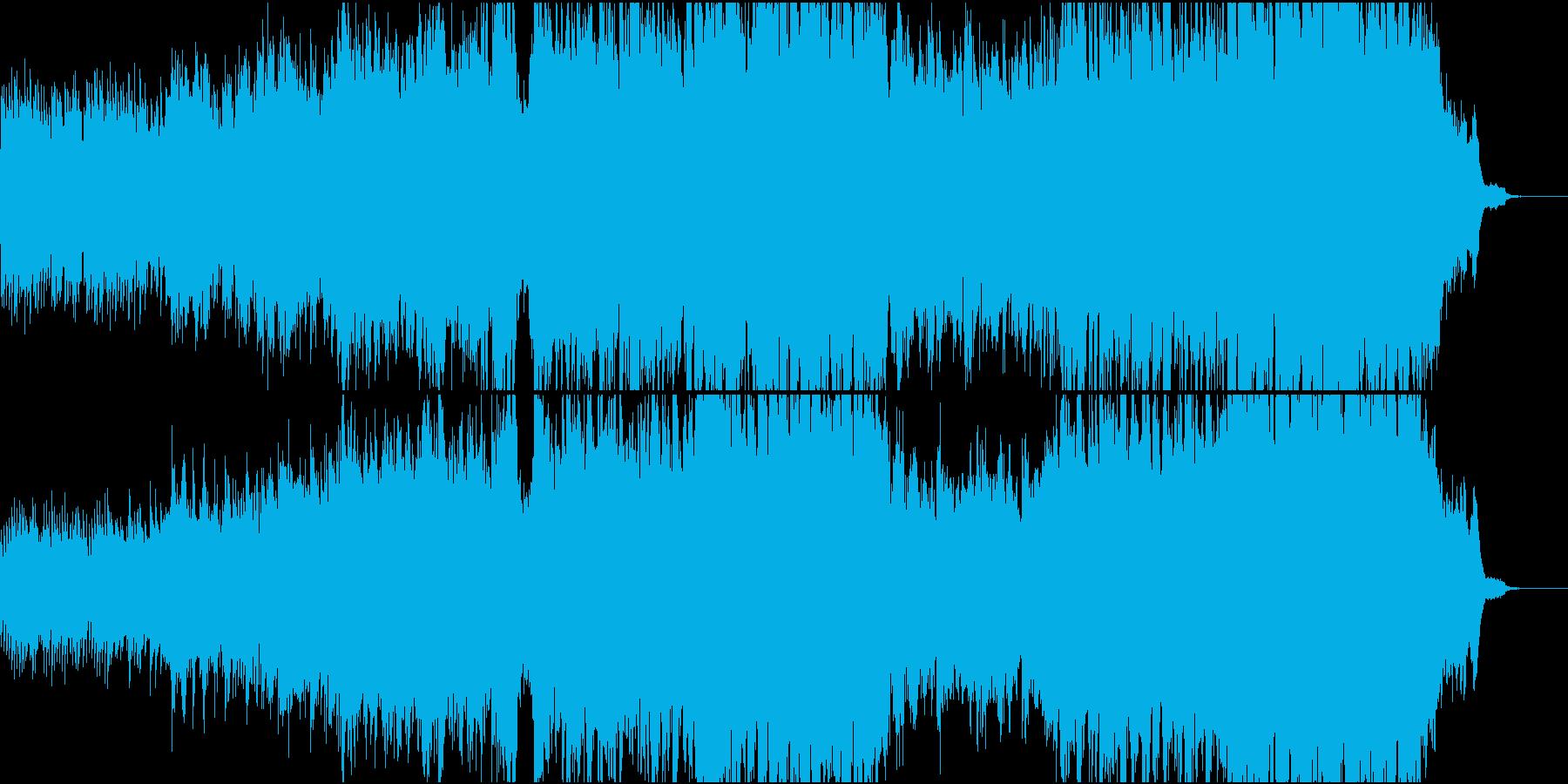 ハリウッド風ピアノ+オケ1フル版の再生済みの波形