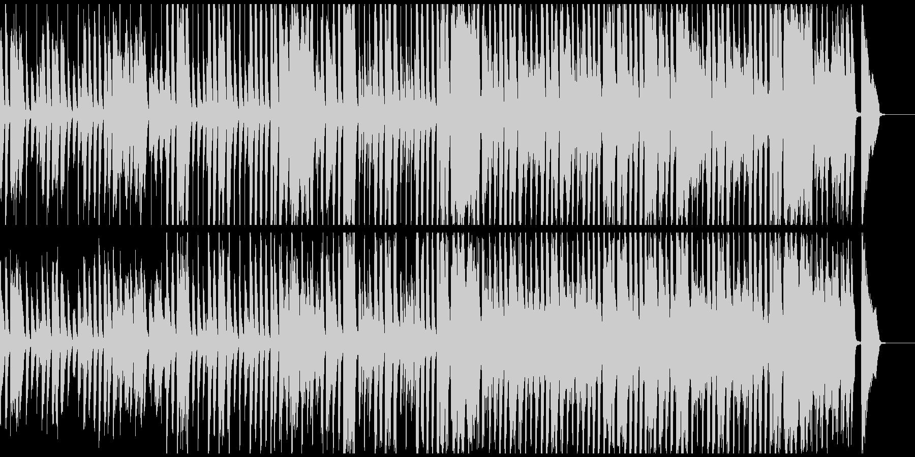 CMに 楽しくコミカルなBGM 約55秒の未再生の波形