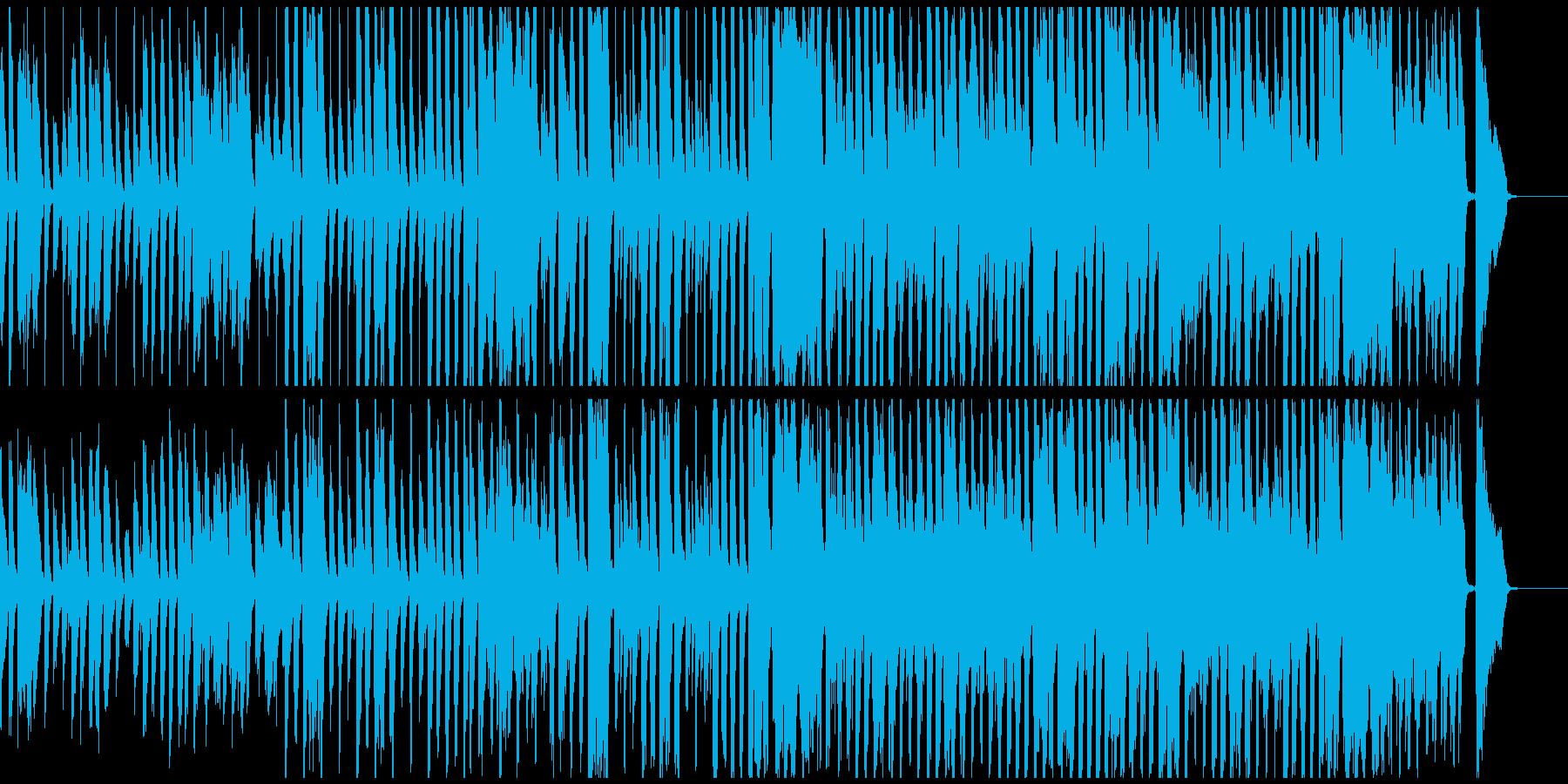 CMに 楽しくコミカルなBGM 約55秒の再生済みの波形