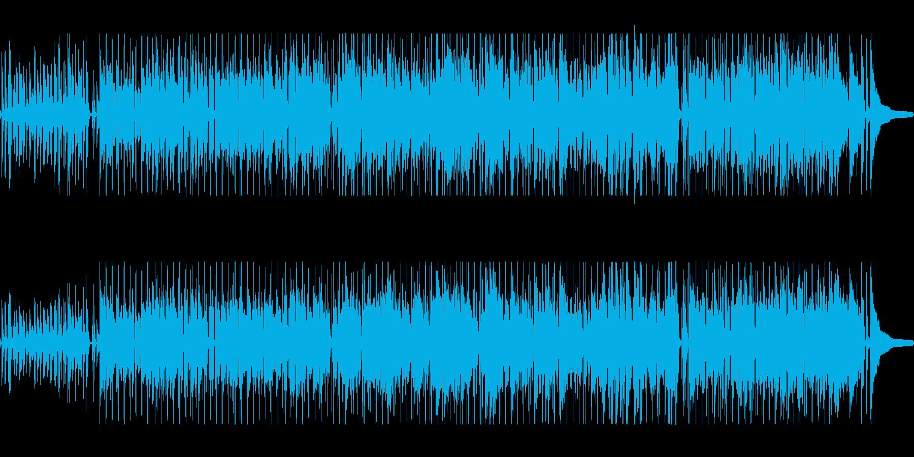 雰囲気のいいピアノポップスの再生済みの波形
