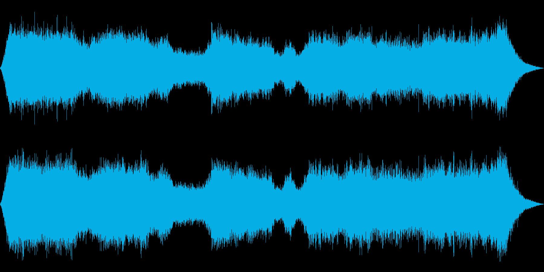 チェーンソーで木を切る2の再生済みの波形
