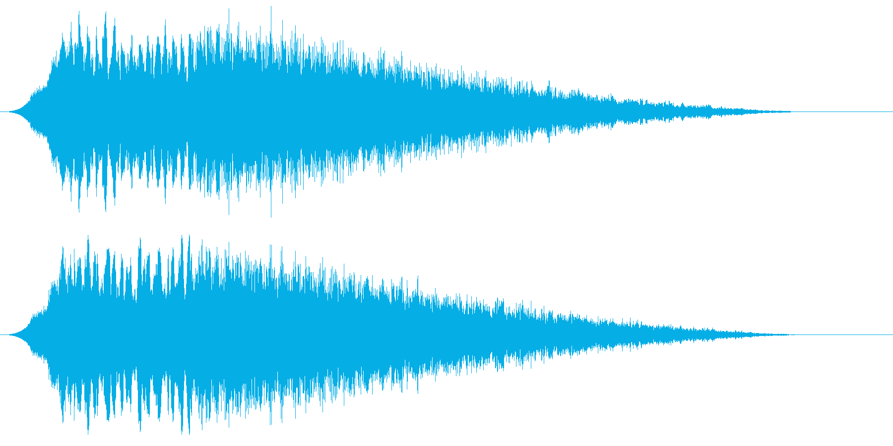 ディスコサイレン タイプAの再生済みの波形