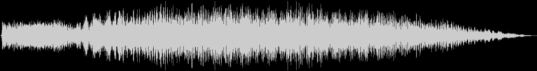 電子レンジ 温める音の未再生の波形