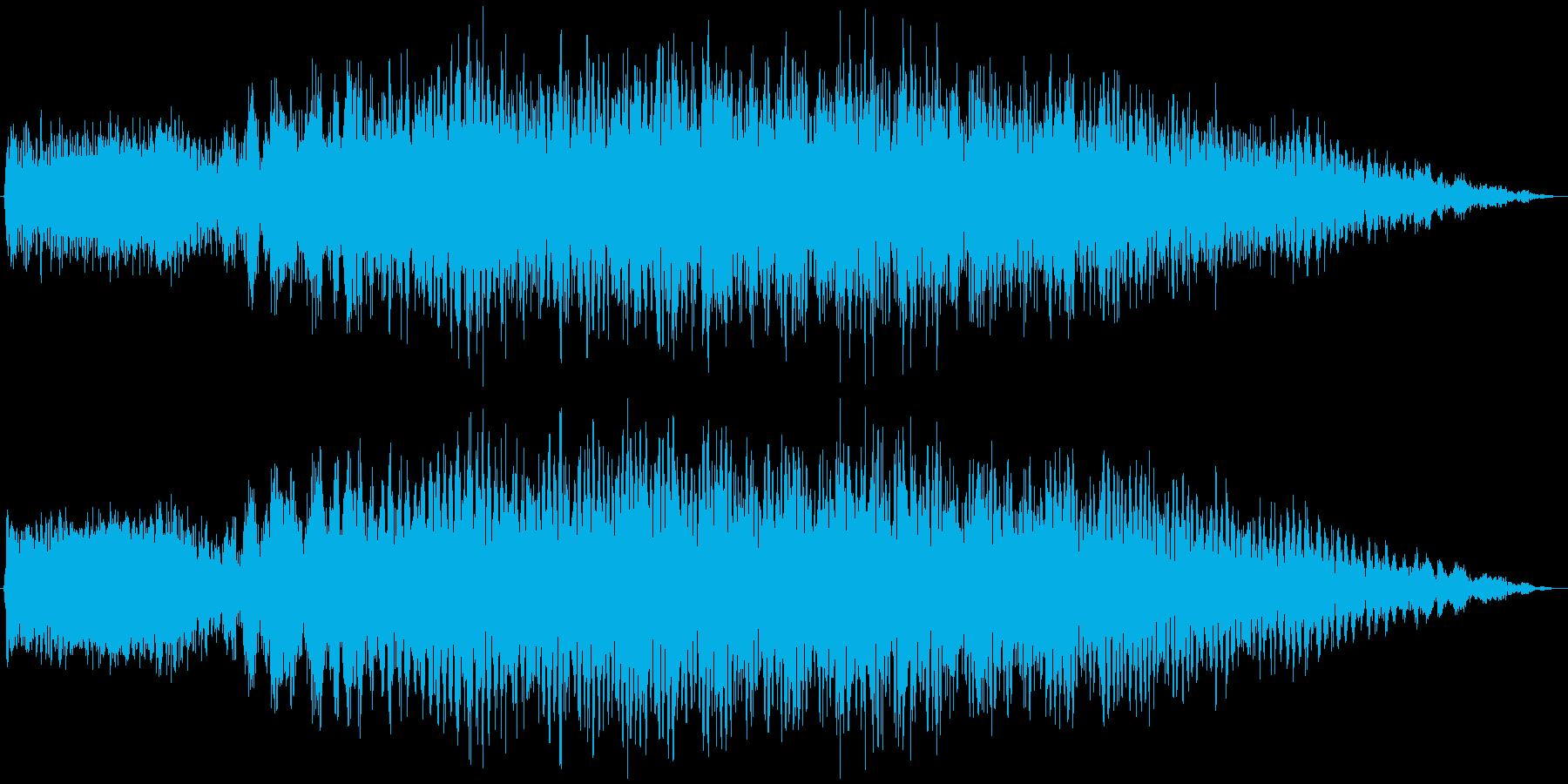 電子レンジ 温める音の再生済みの波形