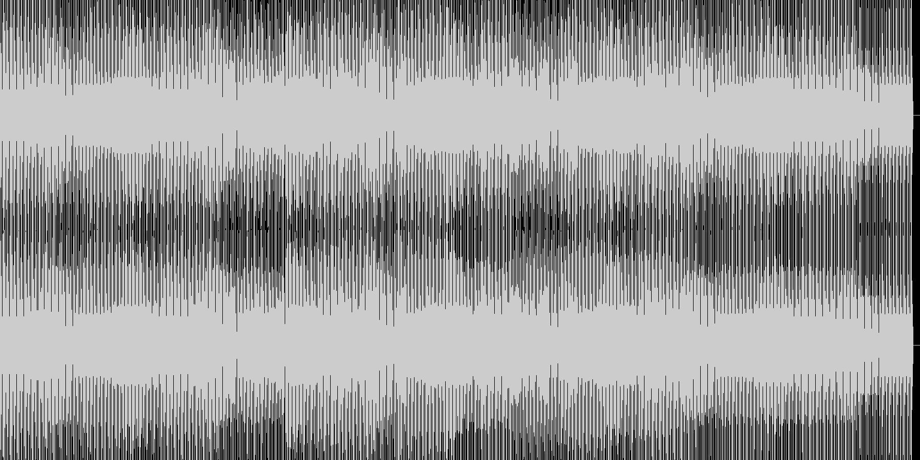 ミニマルハウスの未再生の波形