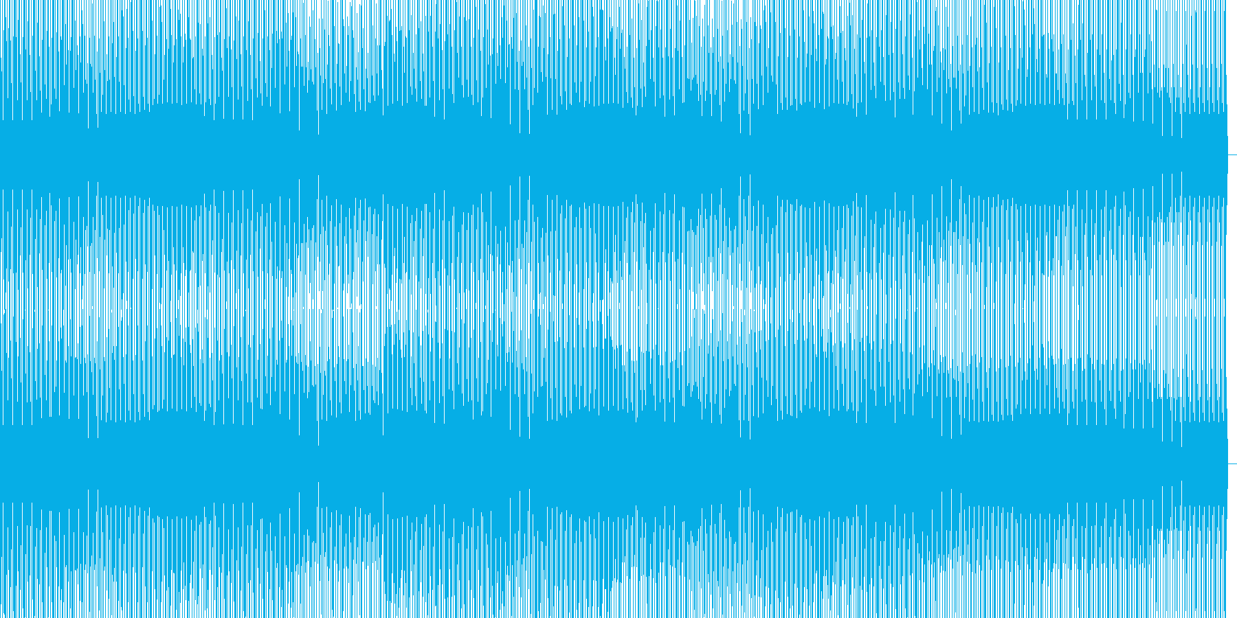 ミニマルハウスの再生済みの波形