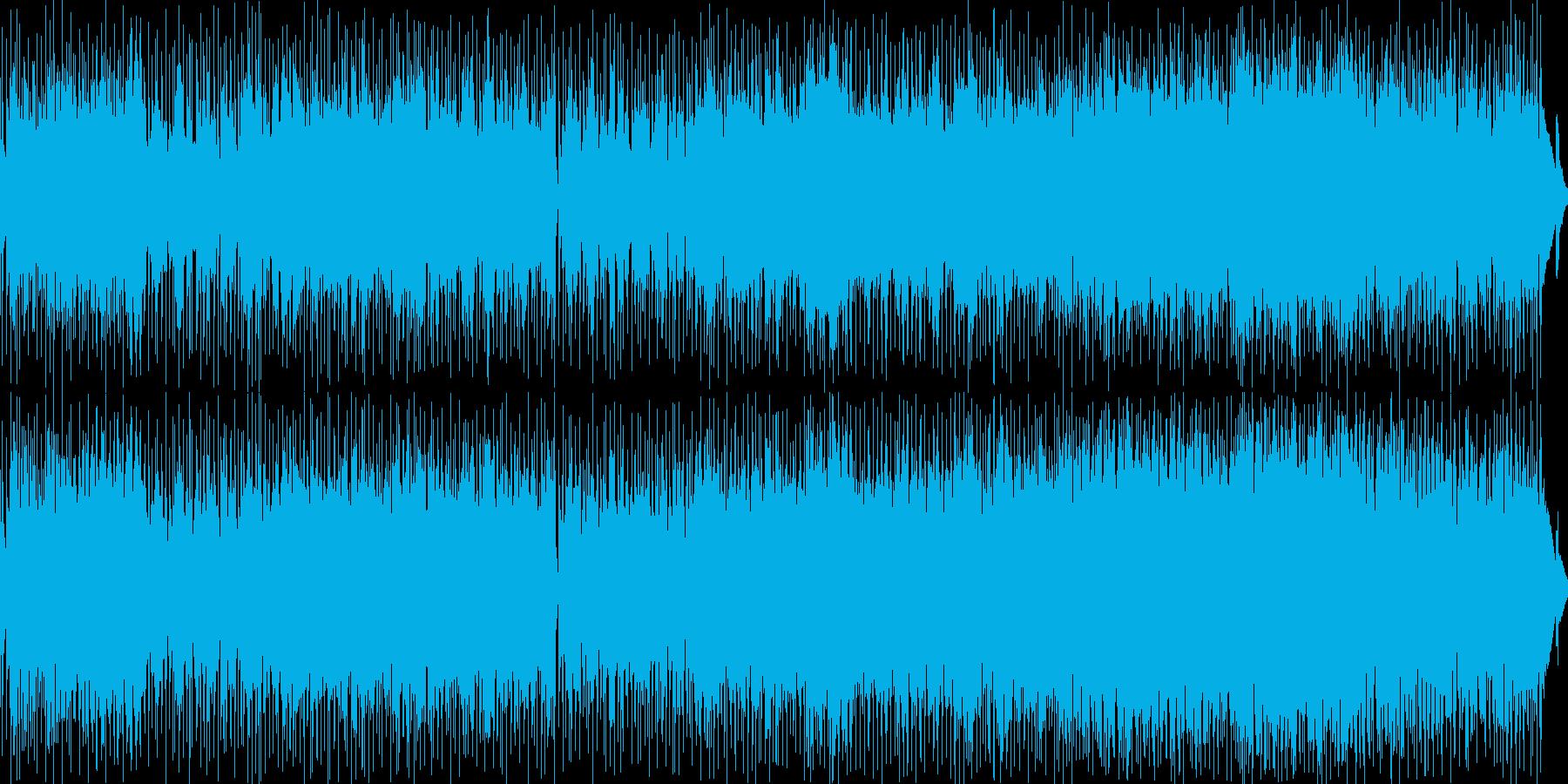 疾走感のあるJazz&Funkなナンバーの再生済みの波形