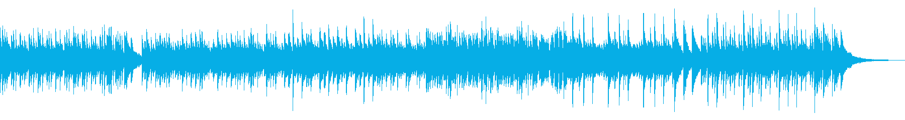 前向きで少し不思議切ないピアノ曲の再生済みの波形