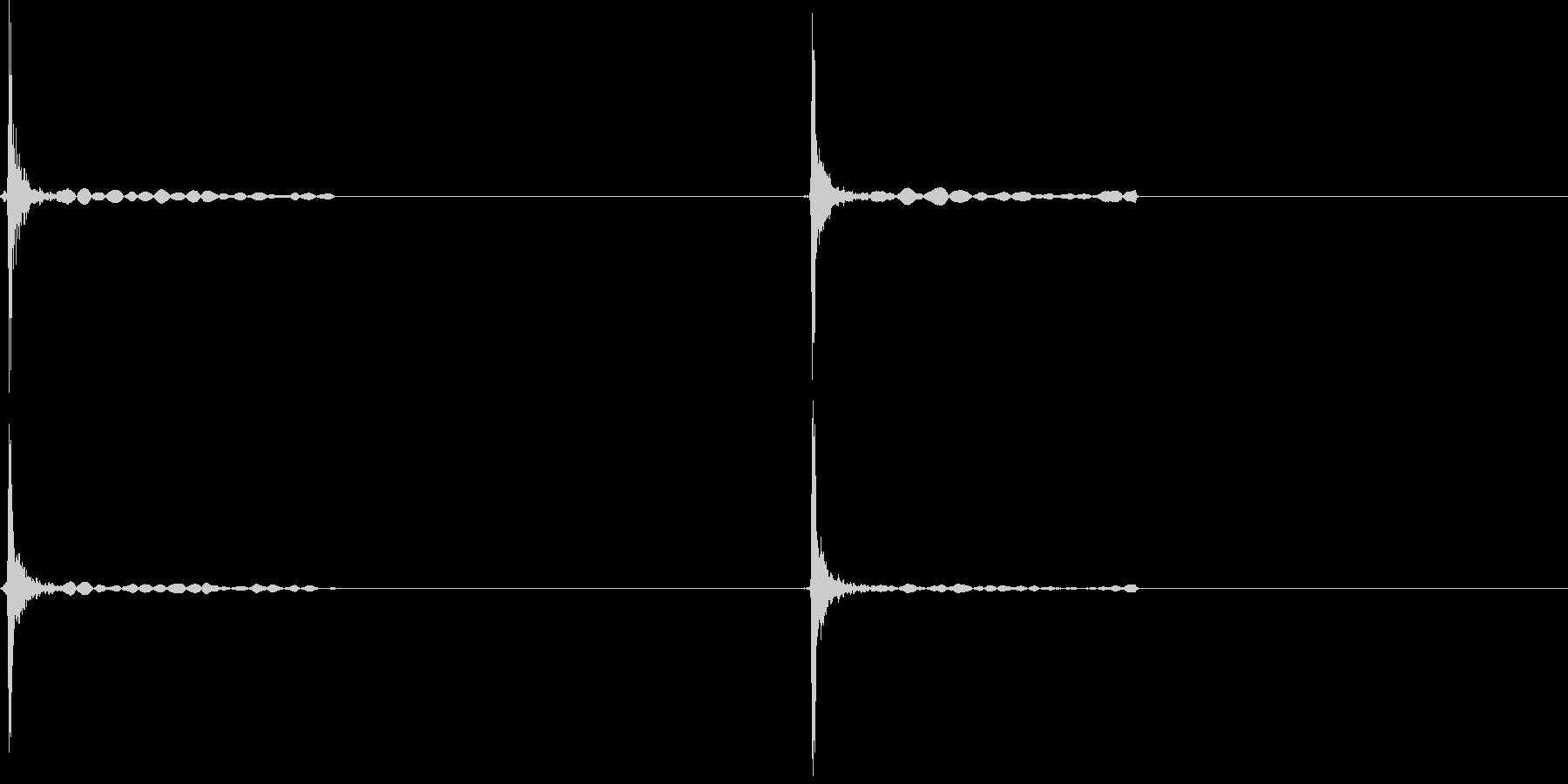スイッチ入切の未再生の波形
