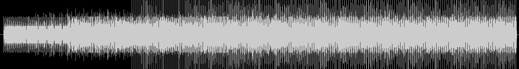 チープで軽快な電子音 レース 徒競走の未再生の波形