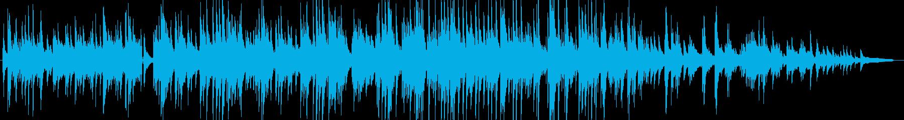 優しく切ないピアノ・ギターの感動バラードの再生済みの波形