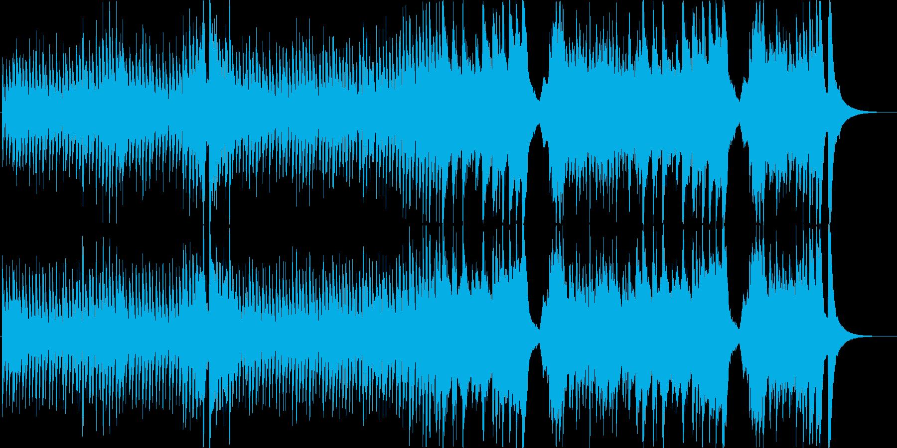 明るく賑やかで愉快なオーケストラマーチ1の再生済みの波形