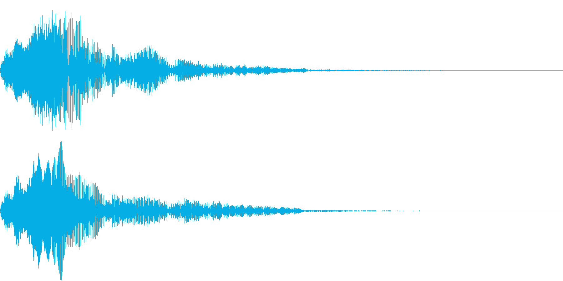 TV RADIO SFX10 チェケラ!の再生済みの波形