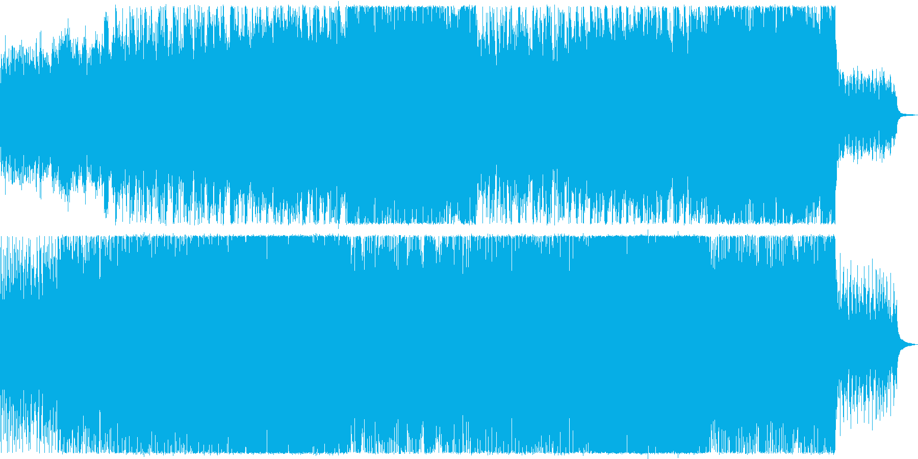 【ドラム・ベース抜き】爽やかなアコース…の再生済みの波形