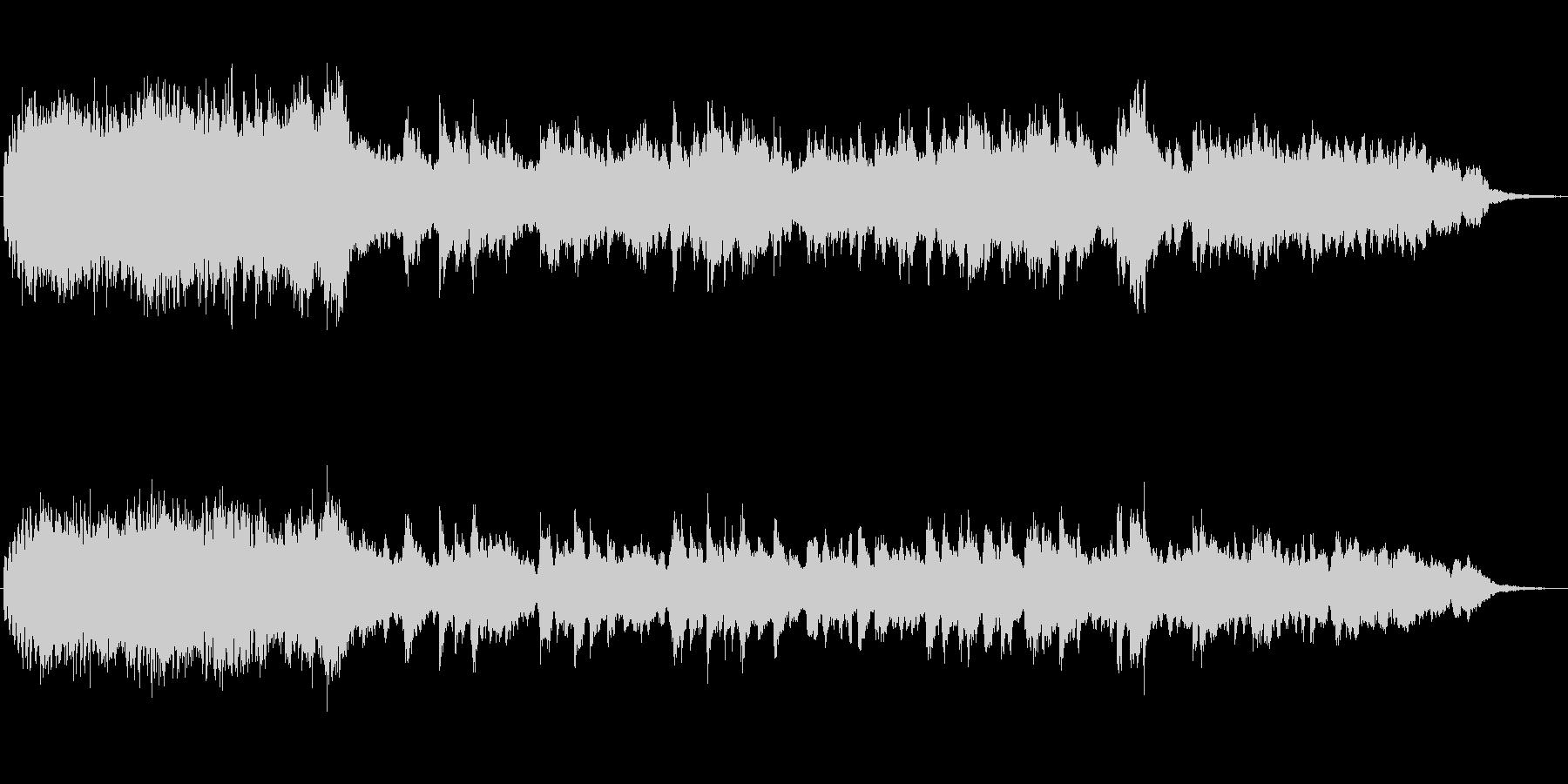 フルートとピアノのメルヘンなBGMの未再生の波形