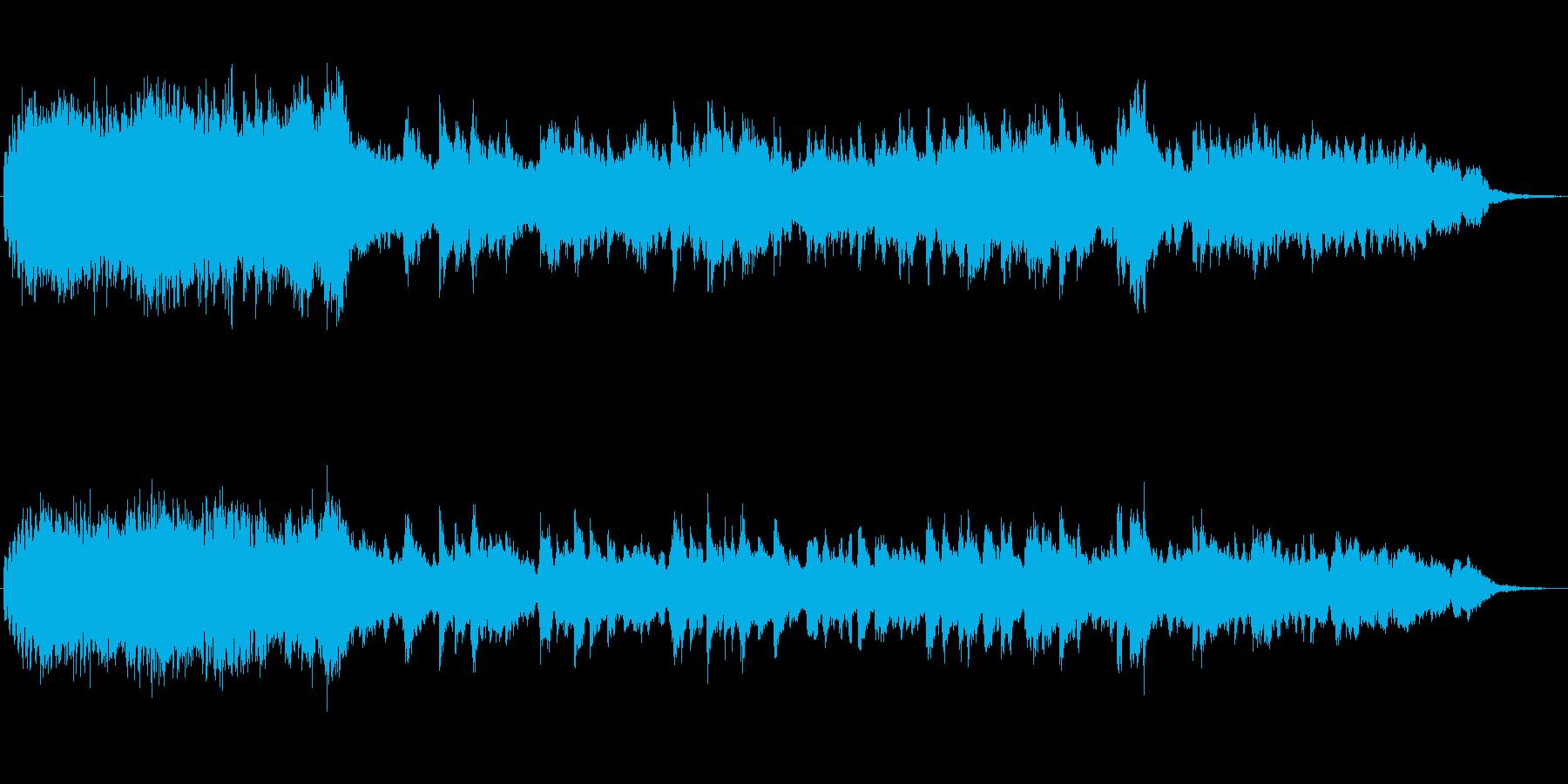 フルートとピアノのメルヘンなBGMの再生済みの波形