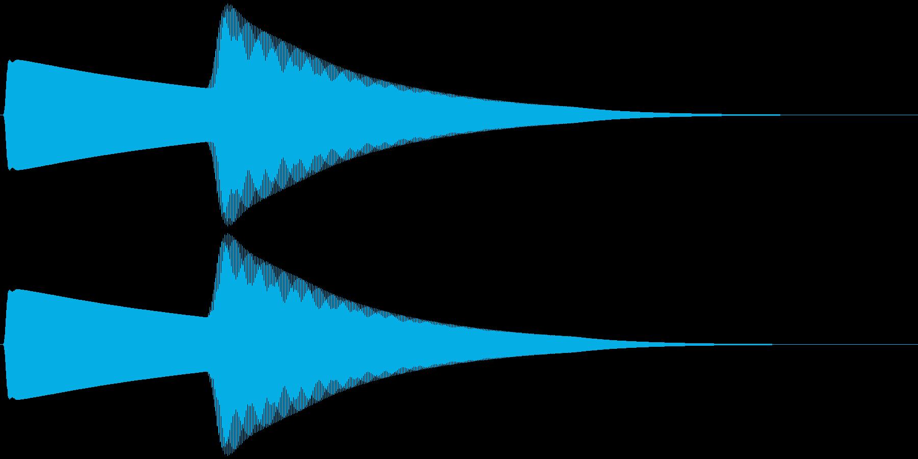 ベアベル (響く、余韻)の再生済みの波形