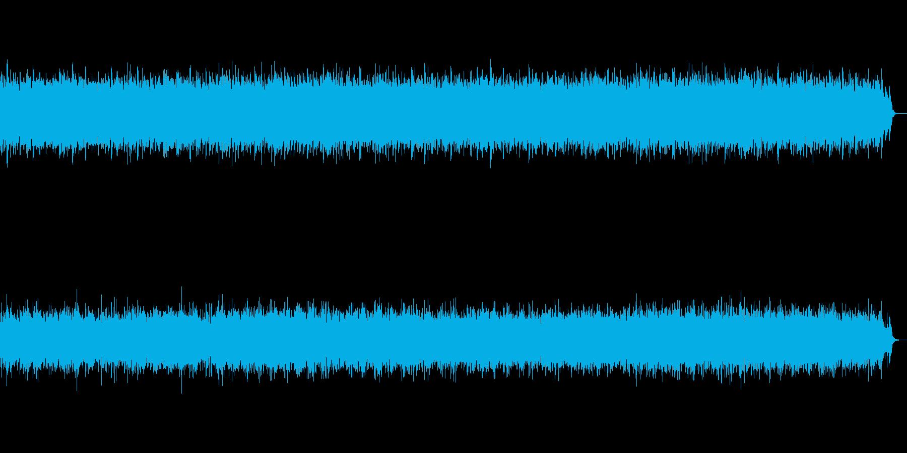 水をイメージした清々しいヒーリング音楽の再生済みの波形