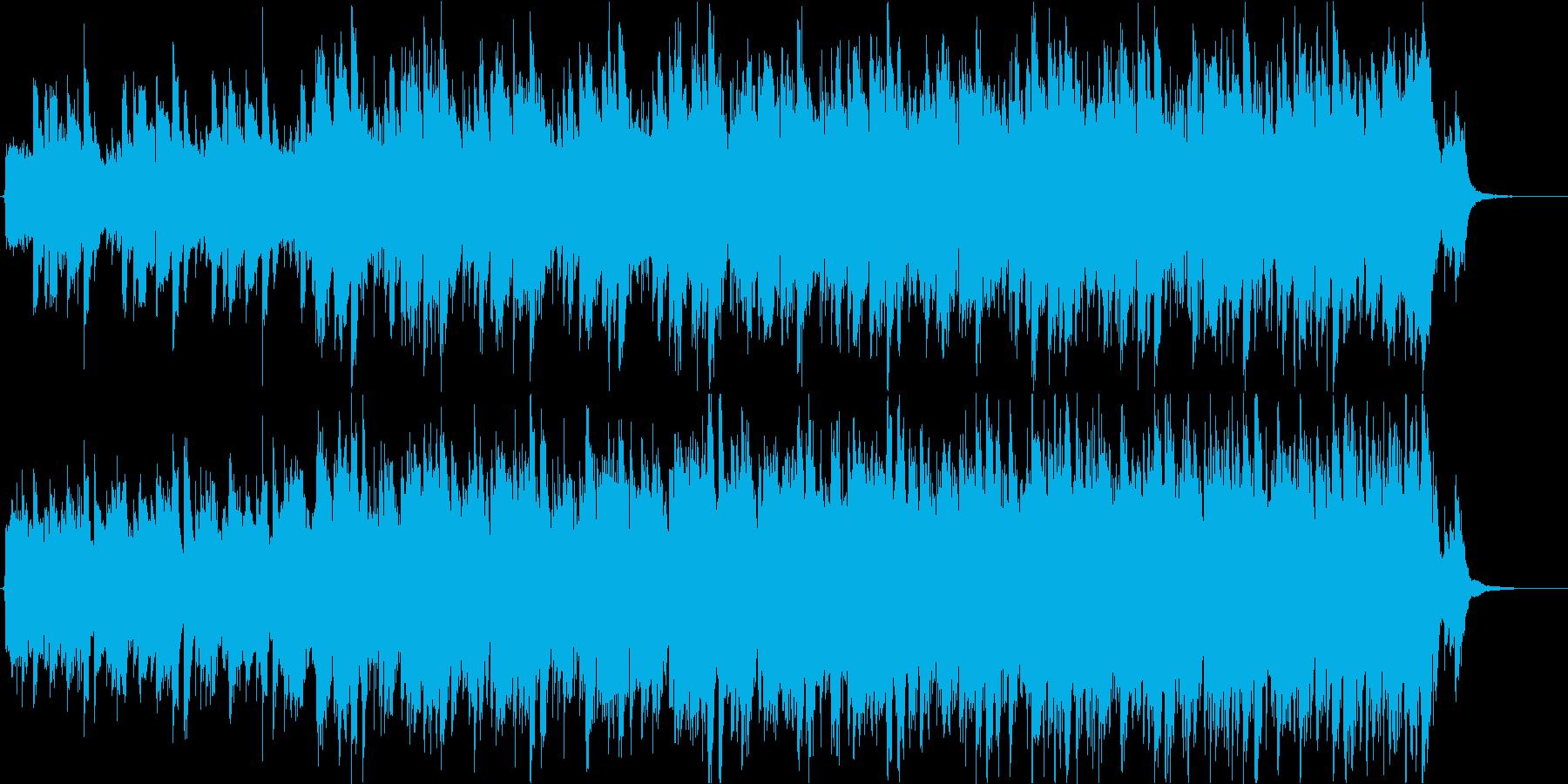 インパクト絶大ギター生演奏-緊迫シリアスの再生済みの波形