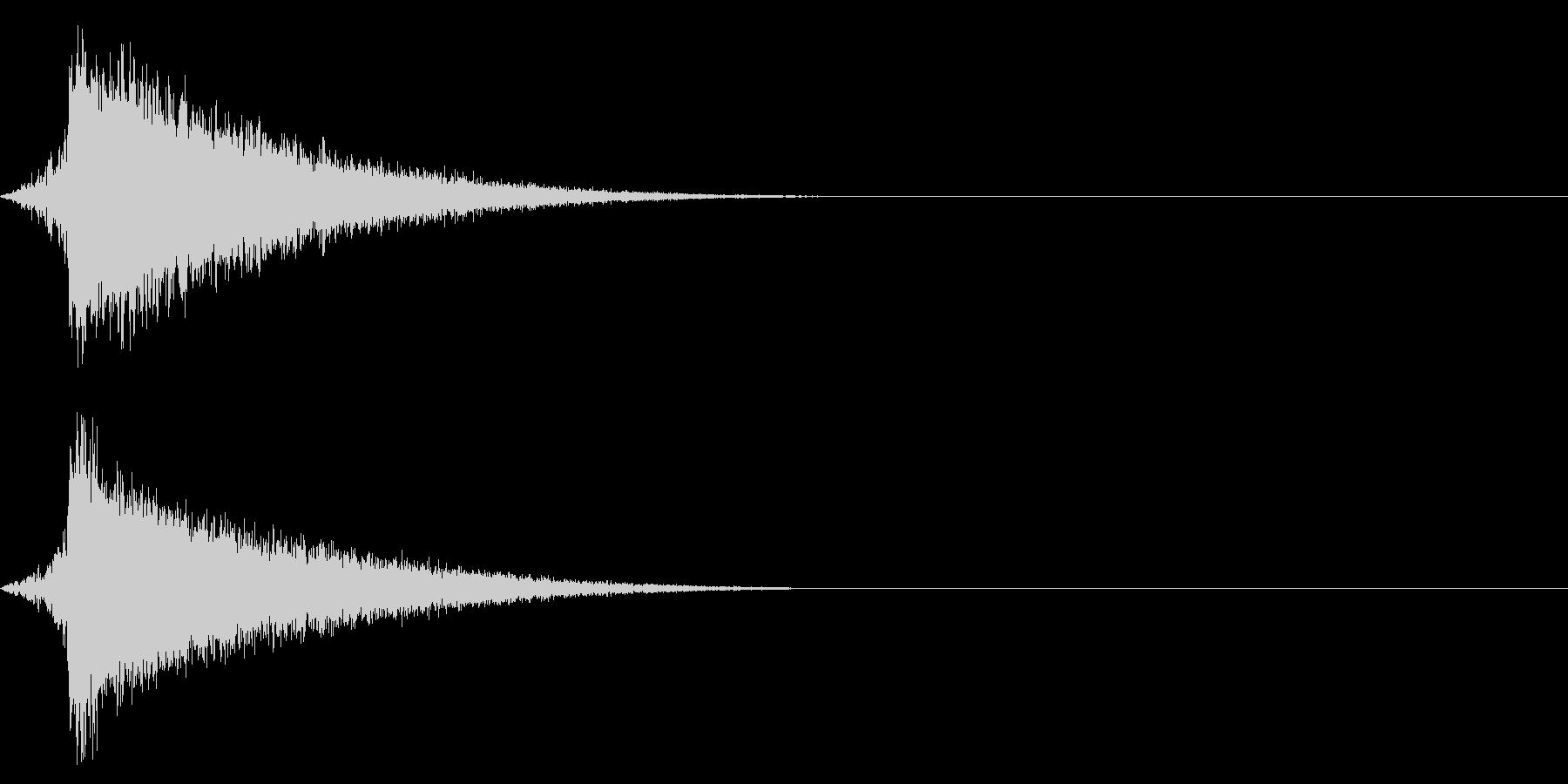ホラー系アタック音94の未再生の波形