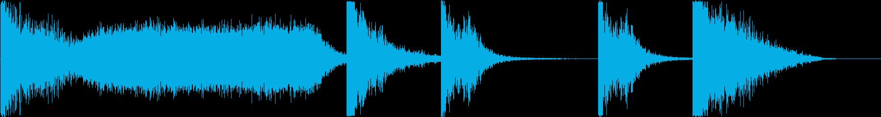 シンプルなトレーラー / 28秒の再生済みの波形
