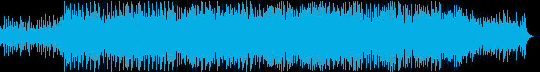 明るく可愛いシンセポップの再生済みの波形