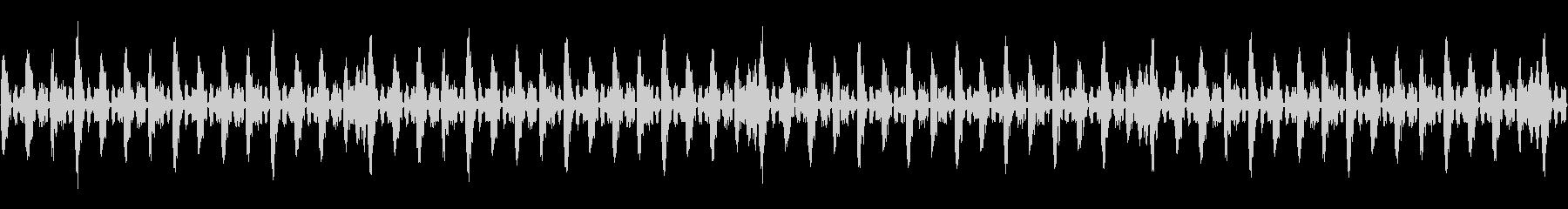 デジタルな曲の未再生の波形