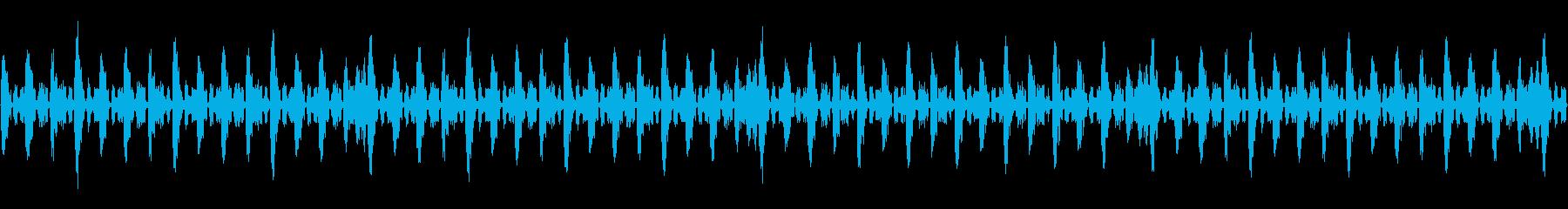 デジタルな曲の再生済みの波形
