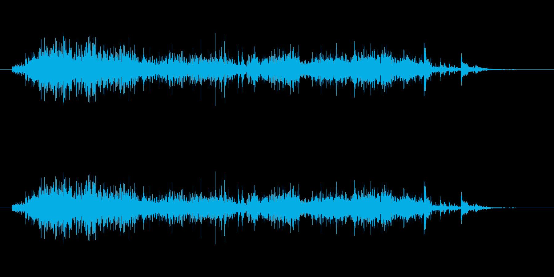 ガラポン抽選会にて。の再生済みの波形