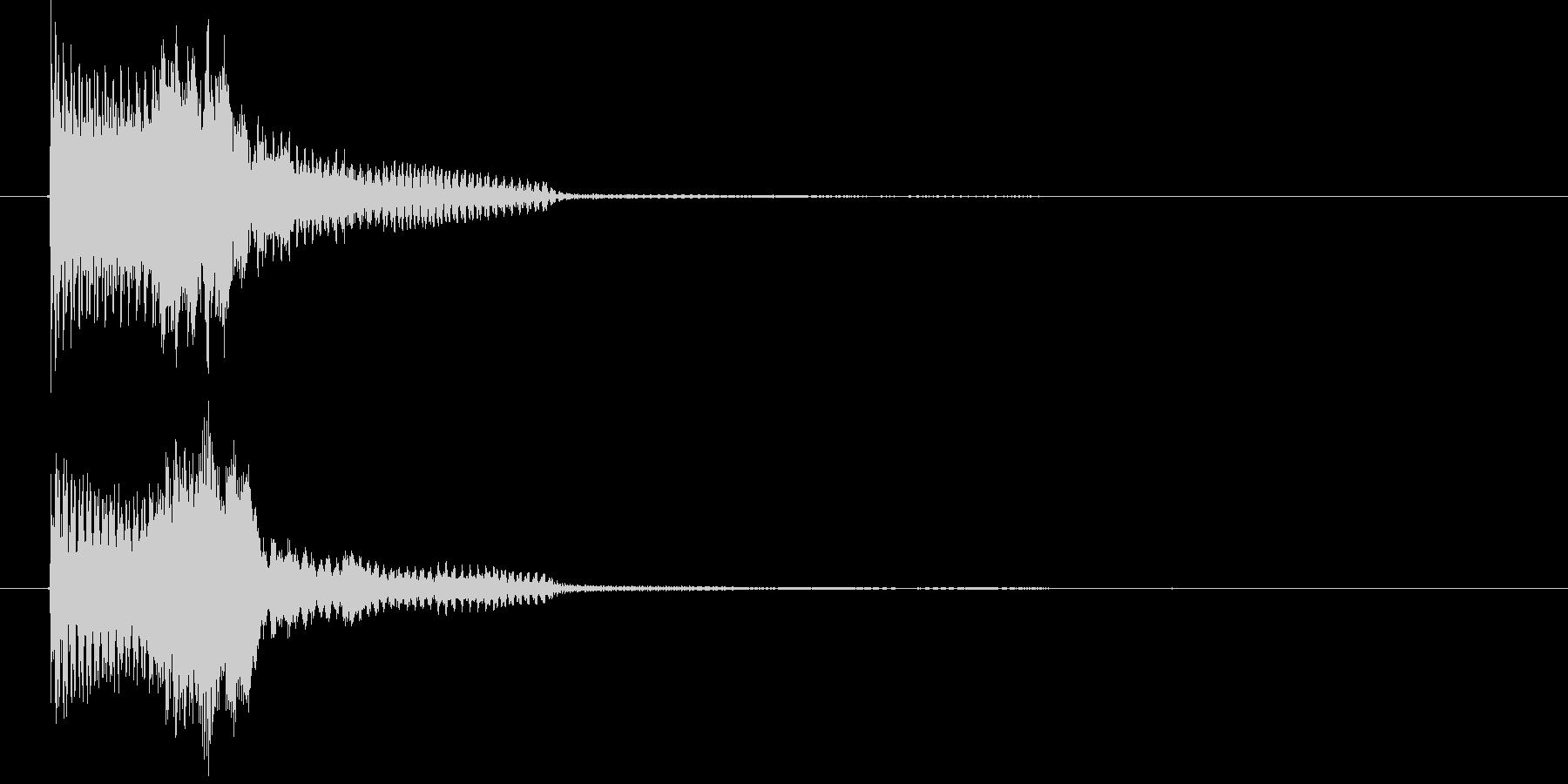 ゲームスタート音1 認証音   K19の未再生の波形
