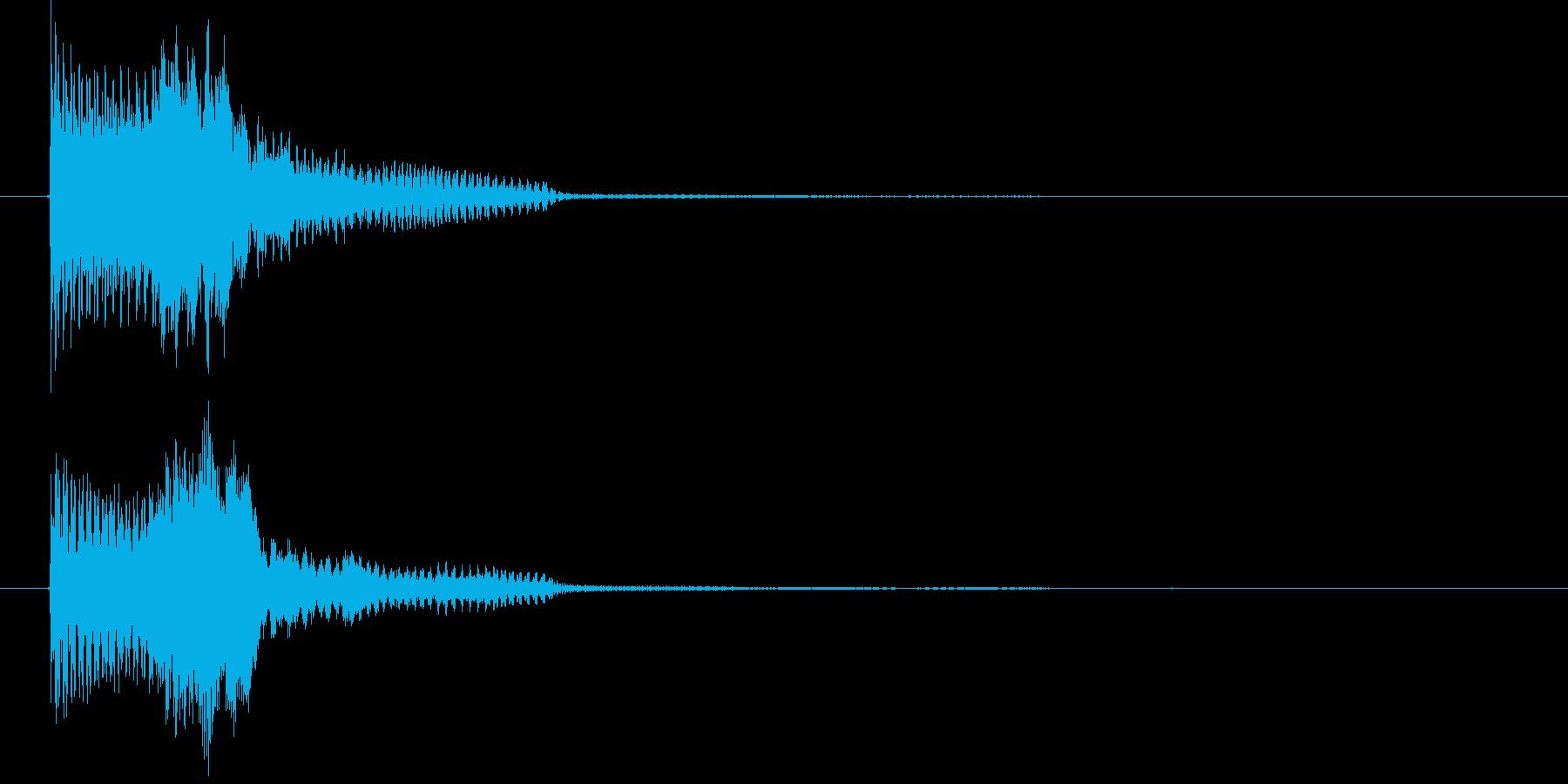 ゲームスタート音1 認証音   K19の再生済みの波形