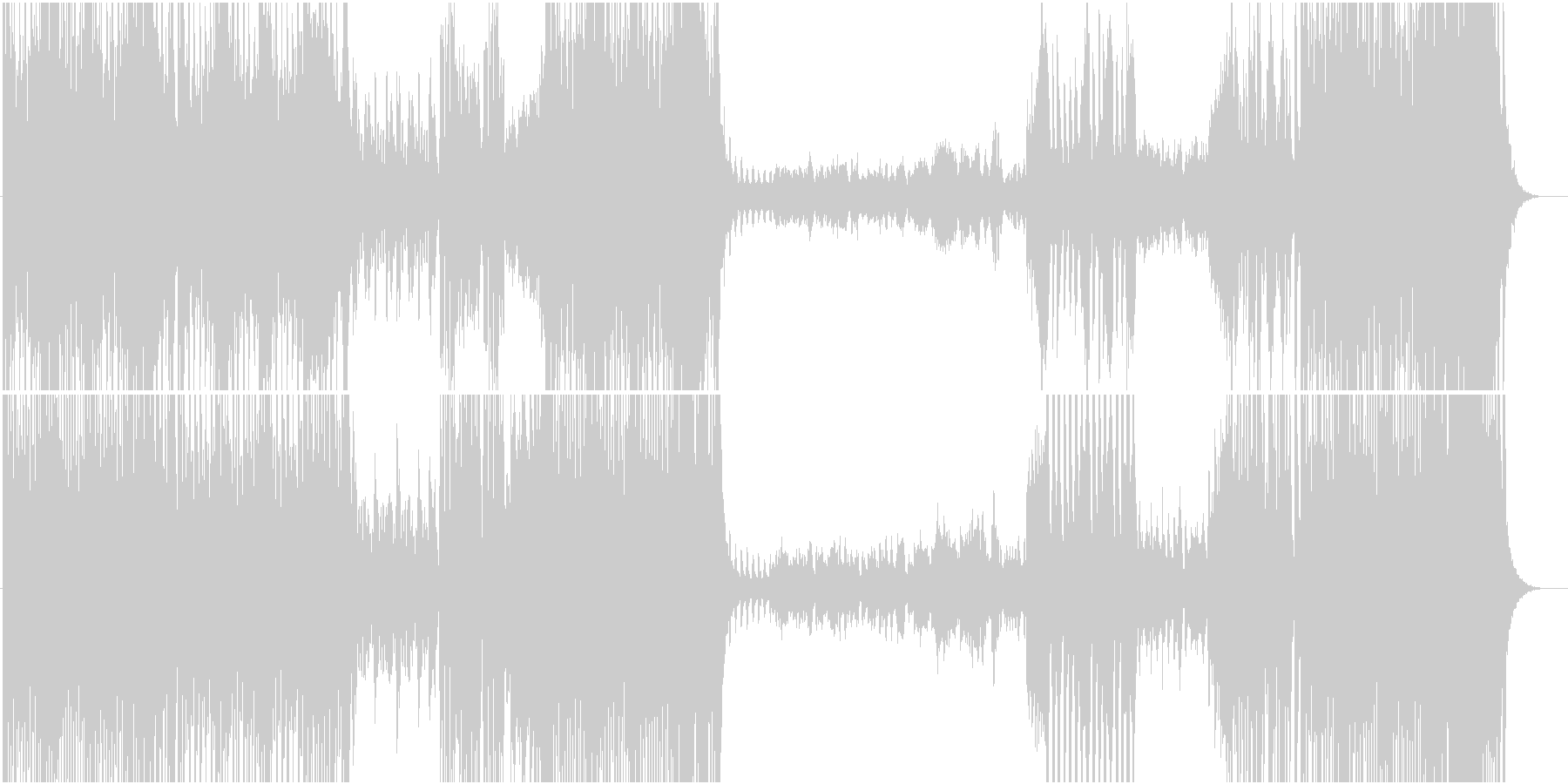 カルメンの未再生の波形