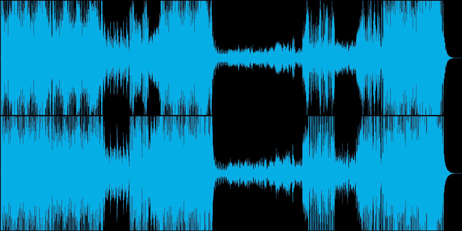 カルメンの再生済みの波形